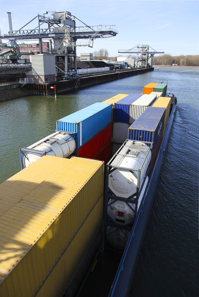 Container on Barge 2