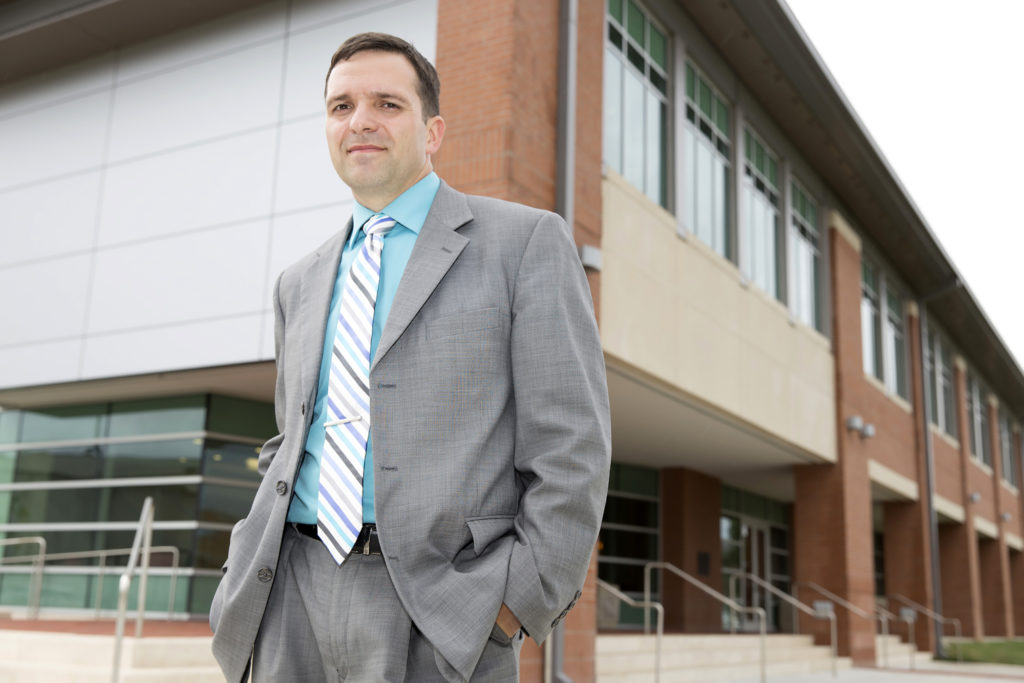 BACK TO SCHOOL: David Lafargue, SOWELA's dean of industrial technology, created an accelerated PTEC curriculum for those who didn't need to repeat general education requirements. (Photo by Lee Celano)