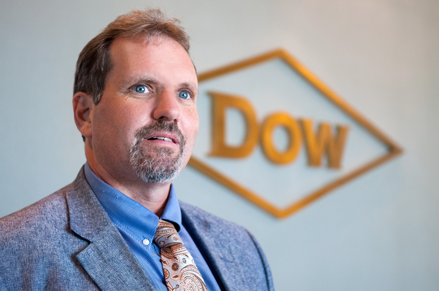 """""""If I'm up on a scaffold, I'm putting my life in their hands that they've done the job right and built the scaffold correctly."""" —Mike Albano, lead director of environmental health and safety, Dow's Louisiana Hub in Plaquemine"""