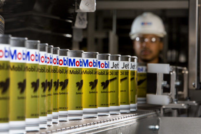 ExxonMobil aviation lubrication plant