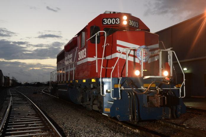 New Orleans Public Belt eco-locomotive